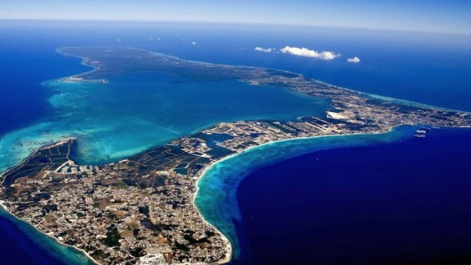 Scenic view of the Cayman Islands