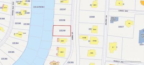 BIMINI DRIVE - CANAL PARCEL, 410918, Land Properties