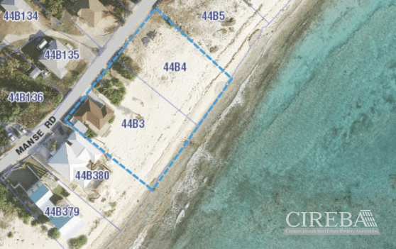 MANSE ROAD  BEACHFRONT LAND - Image 1