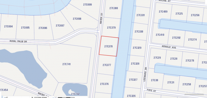 NORTH SOUND ESTATES - WATER STREET  CANAL FRONT LOT - Image 1