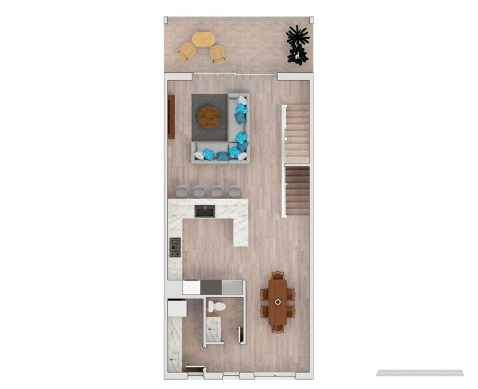 PERIWINKLE WATERFRONT TOWN HOME - Image 5