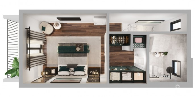 THE PALMS AT DOMINO STREET - 1 BED 1.5 BATH ON 2 FLOORS - PRE-CONSTRUCTION - Image 4
