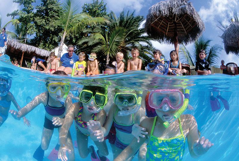 Snorkeling for kids in Grand Cayman